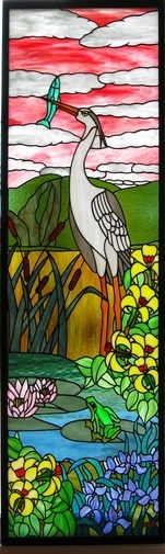 Rodrigue-stained glass