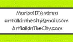 ArtTalkinTheCity.com