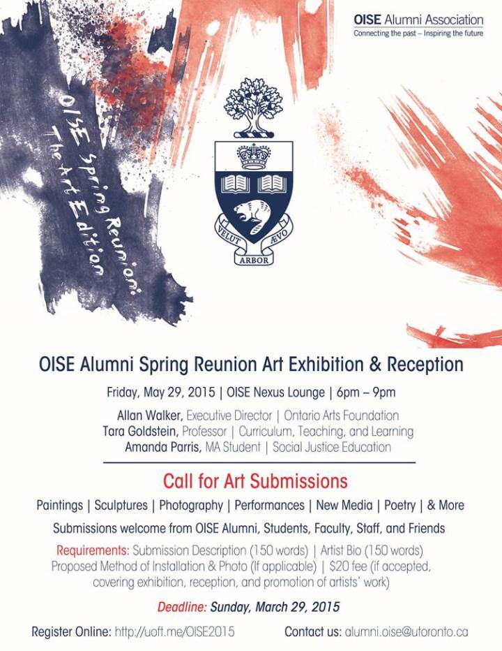 OISE Alumni Art Exhibition
