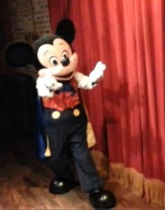 Meeting Mickey, Photo by Marisol D'Andrea, Aug. 2015