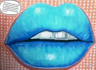 blue lips-marisol